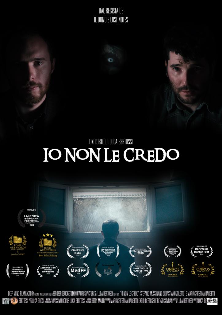 """Locandina del corto """"Io Non Le Credo"""""""