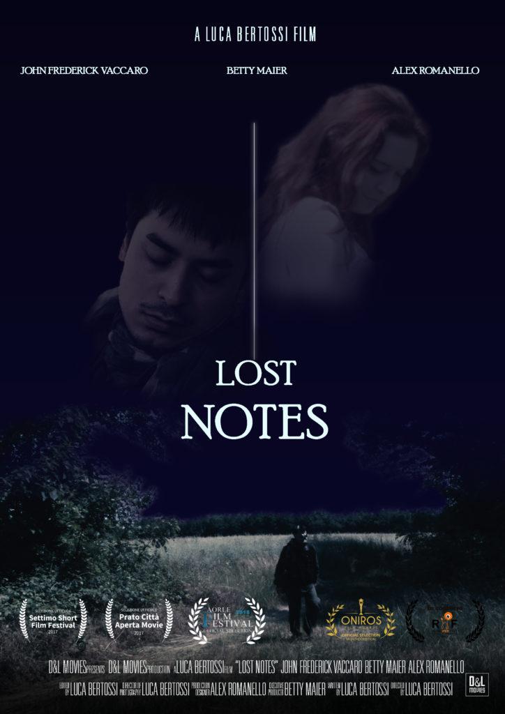 Locandina del cortometraggio Lost Notes